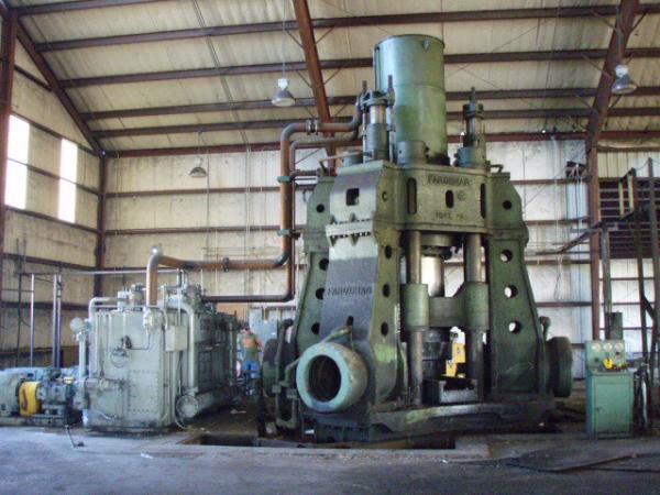 3500/7200 Ton Farquhar Hydraulic Forging Press