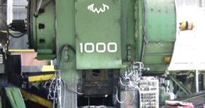 1000 Ton TMP Press