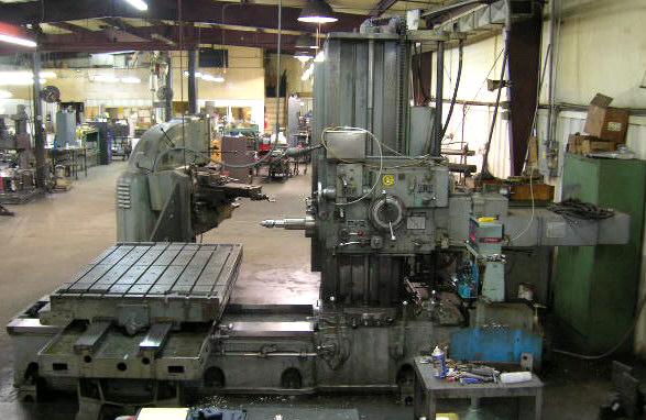 Giddings Amp Lewis Boring Mill Mauldin Machine