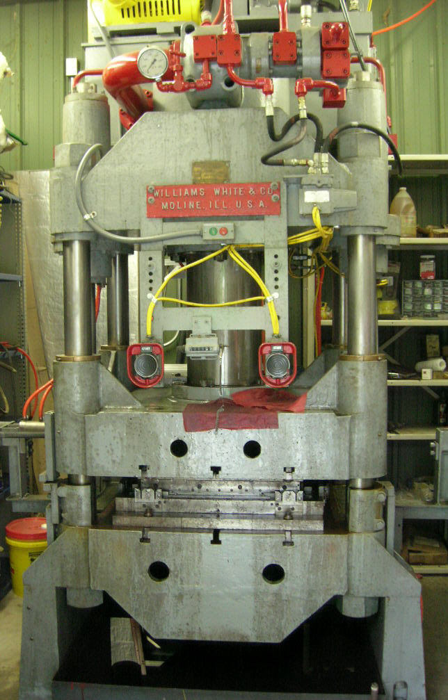 150 Ton Williams White Press Mauldin Machine