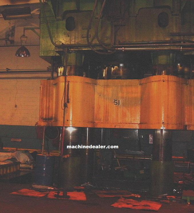 5000 Ton Bliss Press Mauldin Machine