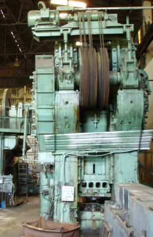 4000 Ton Clearing Press Mauldin Machine