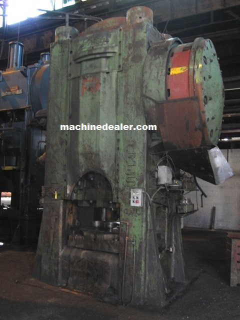 1600 Ton National Maxi Press Mauldin Machine