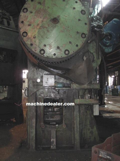 1600 Ton National Maxi Press Mauldin Machine