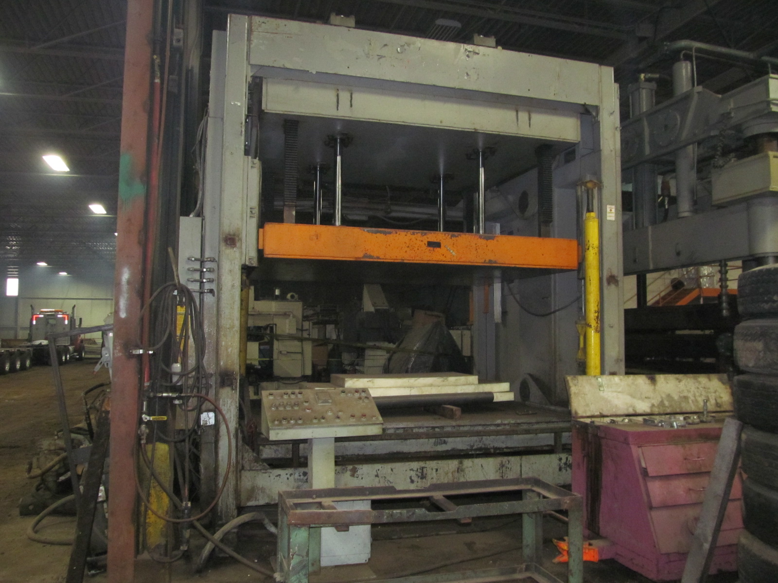 200 Ton Tyler Hydraulic Press | Mauldin Machine