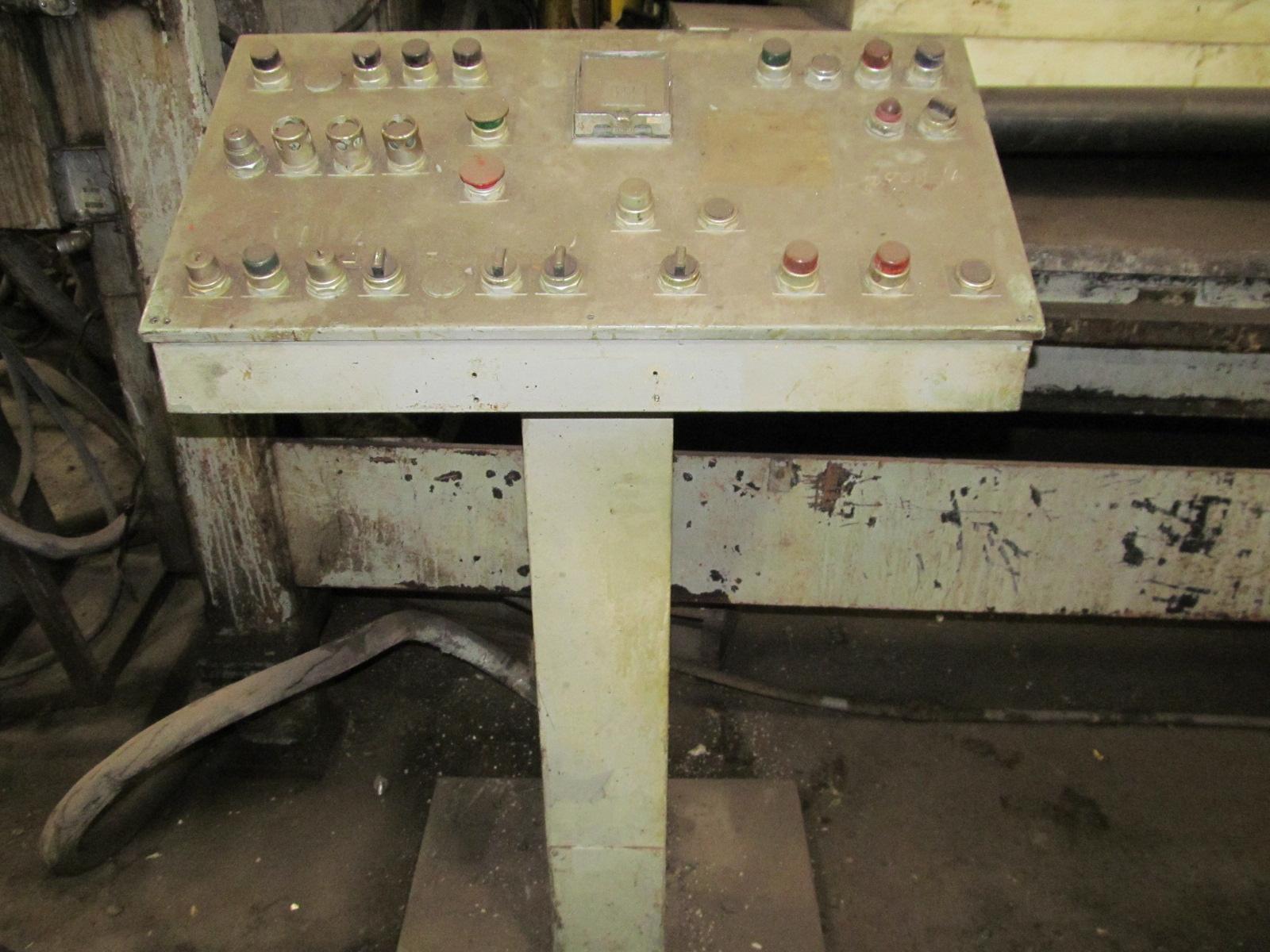200 Ton Tyler Hydraulic Press Mauldin Machine