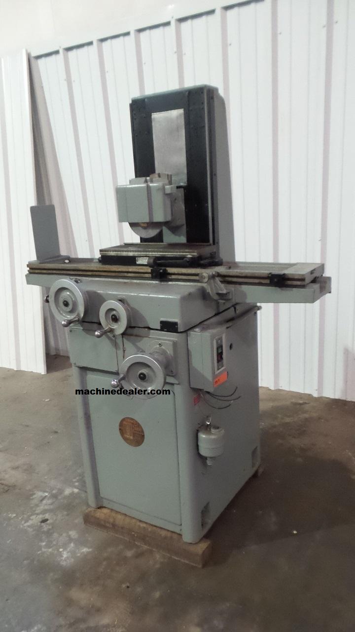 6 X 18 Reid Manual Surface Grinder Mauldin Machine
