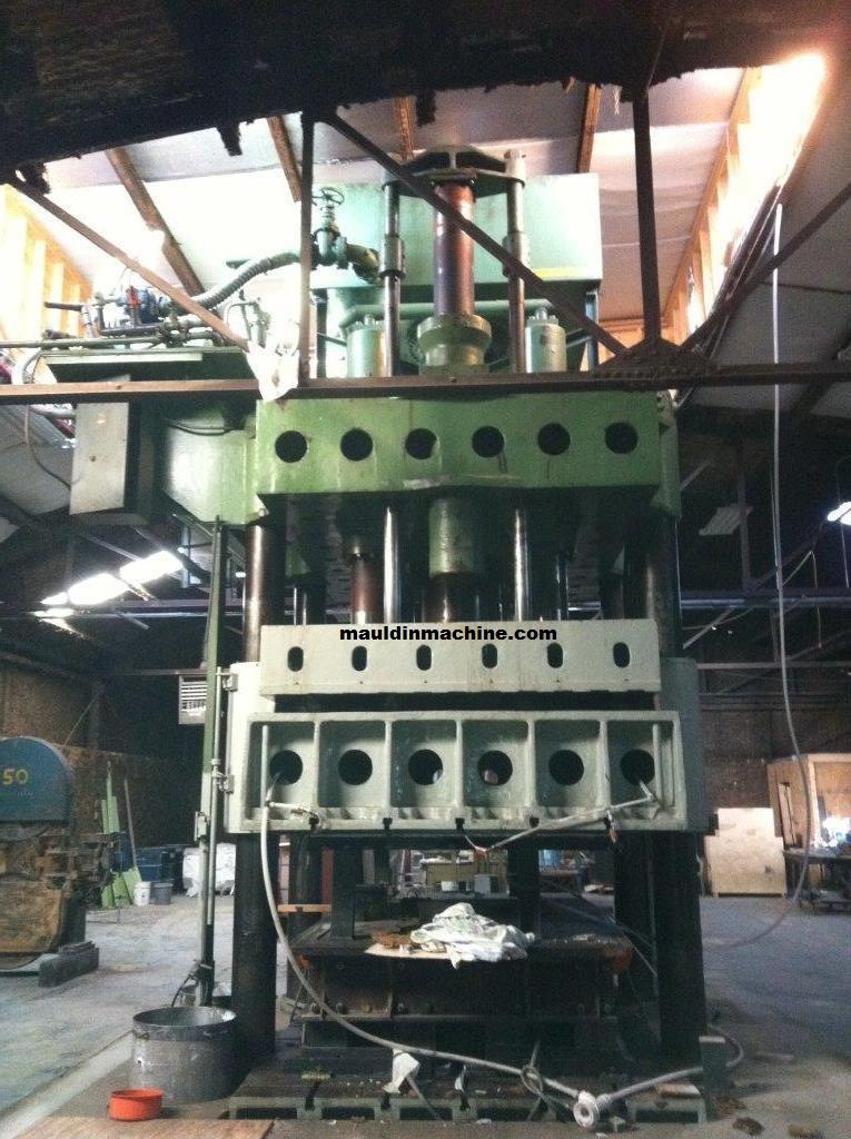 Presses – Hydraulic | Mauldin Machine
