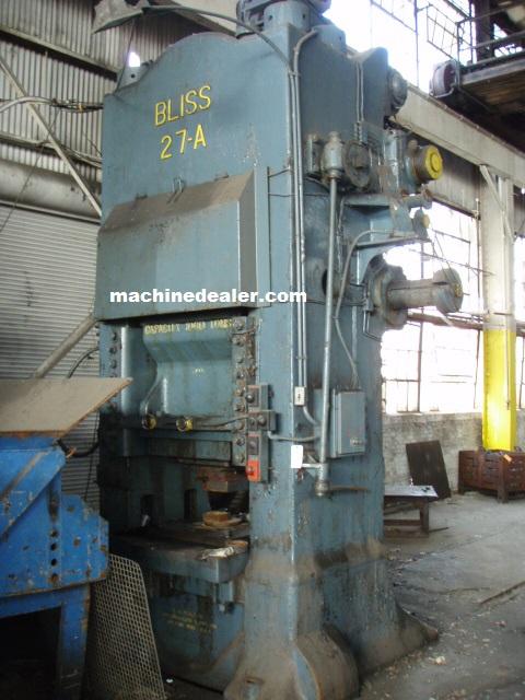 1000 Ton Bliss Knuckle Press Mauldin Machine