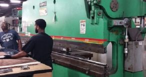 130 Ton Accurpress Press Brake
