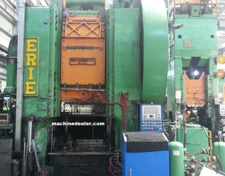 Complete Erie 4000 Ton Press Line
