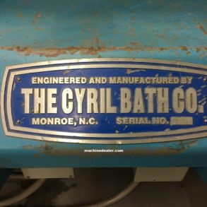 20 Ton Cyril Bath Hyd CNC Stretch Form Machine